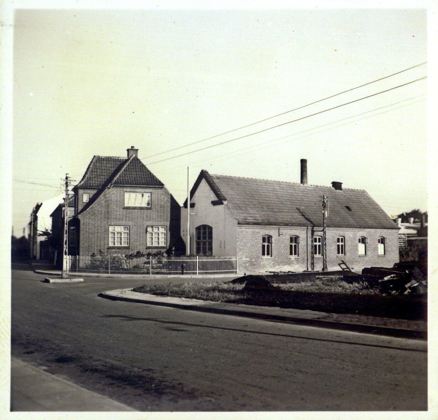 Vrå Elværk 1950'erne